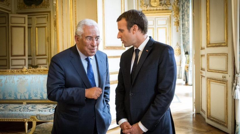 """""""Nunca Pensei que Teria de Defender os Trabalhadores Europeus Contra um Socialista Português"""" Macron"""