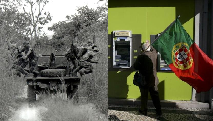 Ajudas aos Bancos vão Custar Mais do que a Guerra Colonial