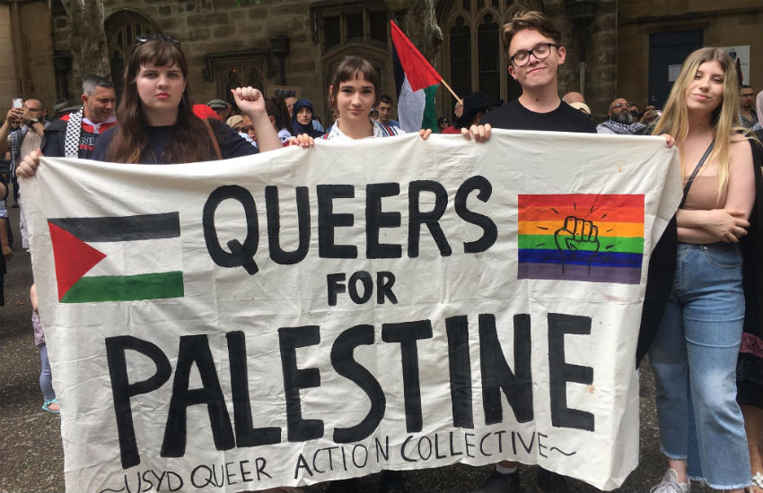 Autoridades da Palestina Proíbem Actividades LGBTQ