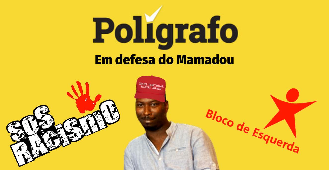 Verdade VS Polígrafo: Mamadou Ba Inventou Boato Racista e o Polígrafo Defendeu-o