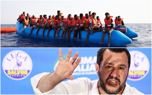 Itália sob Ataque de Navios de Migrantes Financiados por ONG's – Salvini está a Proibi-los