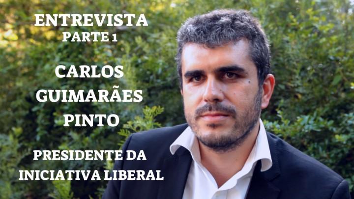 """""""O Peso do Estado na Vida das Pessoas Deve Ser Mais Baixo"""" ENTREVISTA: Carlos Guimarães Pinto"""