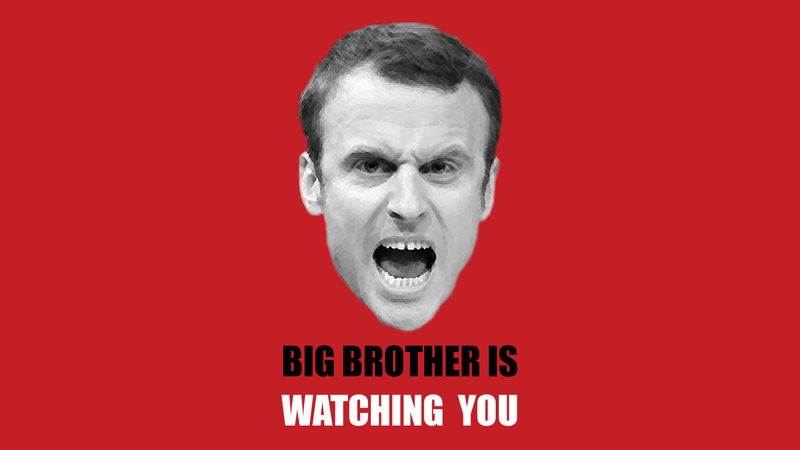 Emmanuel Macron, o Big Brother Francês