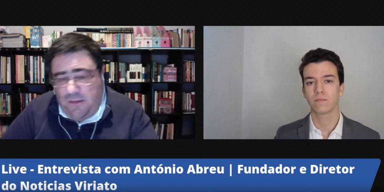 """Entrevista do Jornal Setubalense """"Diário do Distrito"""" ao Director do Notícias Viriato"""