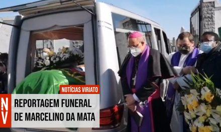 Reportagem do Notícias Viriato no Funeral do Tenente-Coronel Marcelino da Mata