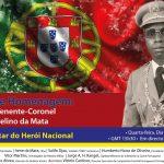 Sessão de Homenagem ao Ten-Cor Marcelino da Mata com Moderação de António Abreu